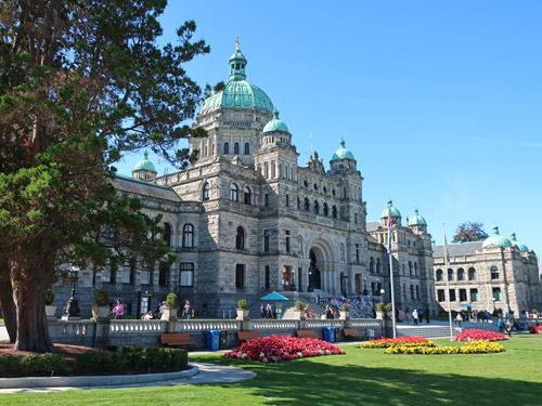British Columbia Legislature, Victoria Canada