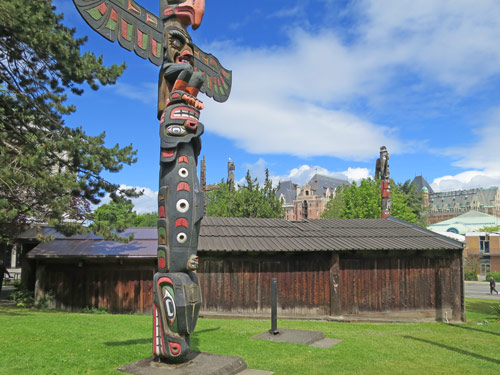 Totem Poles of British Columbia's Native People