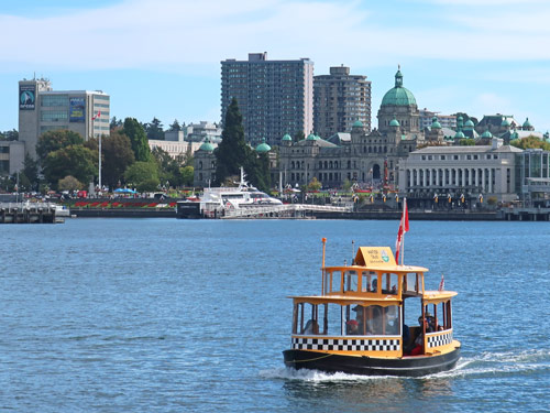 Water Taxi in Victoria BC, Canada